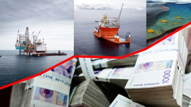 Norske oljeprosjekter har sprukket med over 200 milliarder på 14 år
