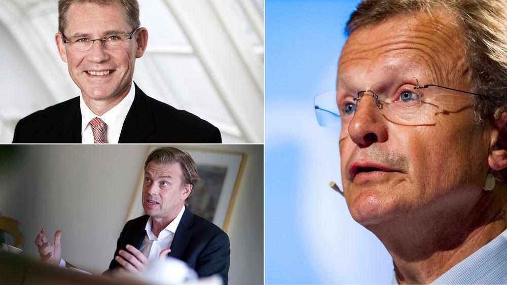 Tre skandinaver er på topp 10-listen over verdens beste sjefer, deriblant tidligere Telenor-sjef Jon Fredrik Baksaas (t.v.).