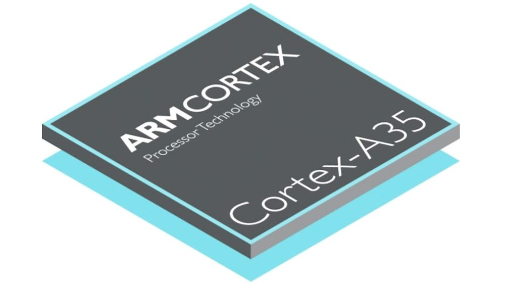 ARM har lansert Cortex-A35, en 64 biters, svært konfigurerbar arkitektur med lavt strømforbruk.
