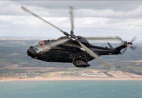 Italiensk HH101A som norske AW101-612 er basert på.