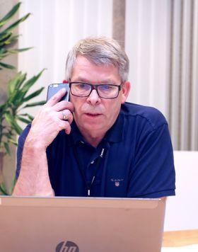 Fred Arild Norum er operativ sjef ved Gardermoen tårn.