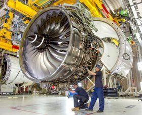 Rolls Royce kjørte Trent XWB-97 i de første bakketestene i juli 2014.