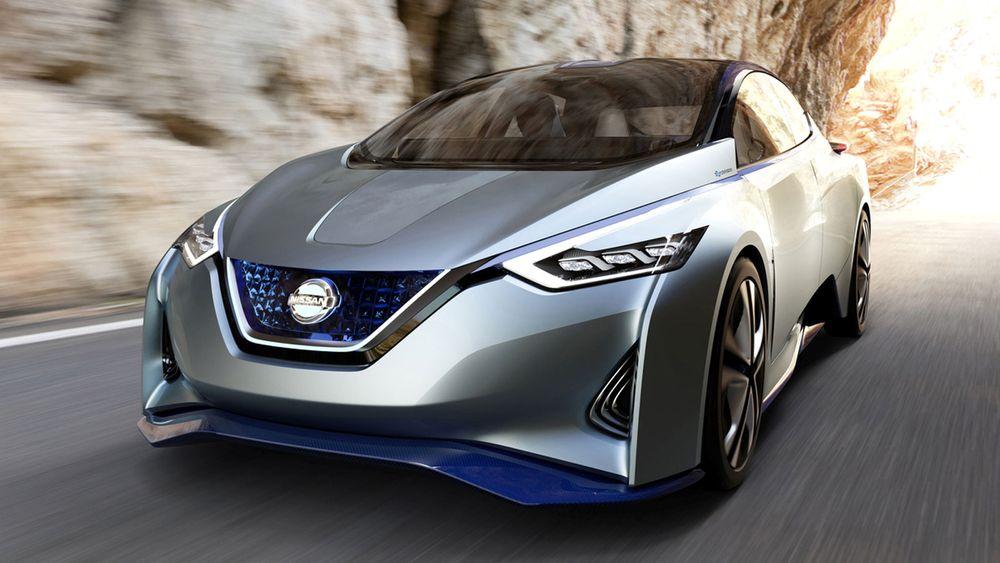 Konseptbilen IDS antas av mange å være en forløper til neste generasjon Leaf.