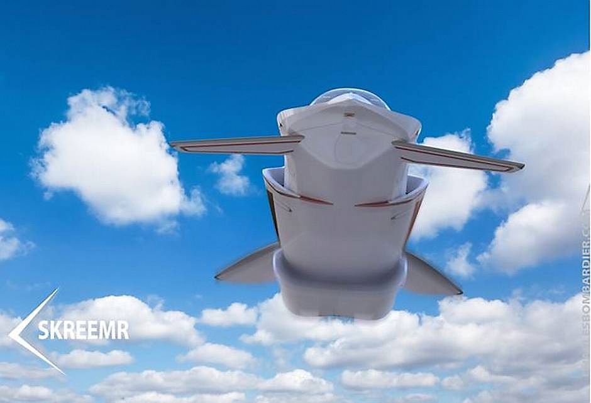Skreemr-flyet vil ha en scramjet-motor, fire vinger og kunne nå en hastighet på hele Mach 10.