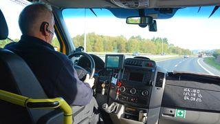 Varslingssystem får taxisjåfører til å endre kjørestil