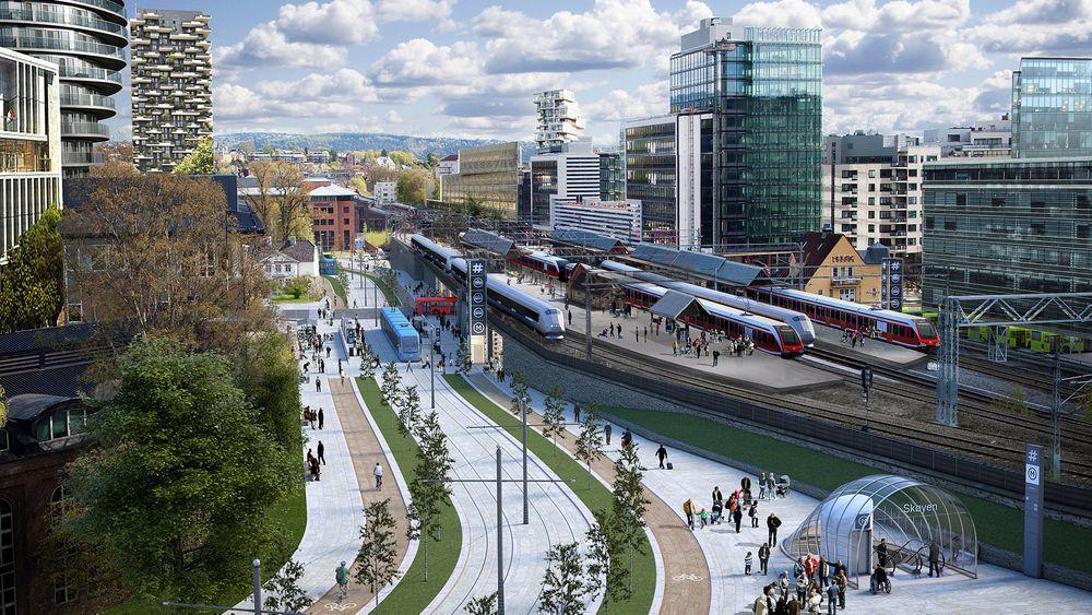 Transportetatene vil bruke mellom 70 og 80 milliarder kroner på å bygge ut kollektivtilbudet i Oslo og Akershus.