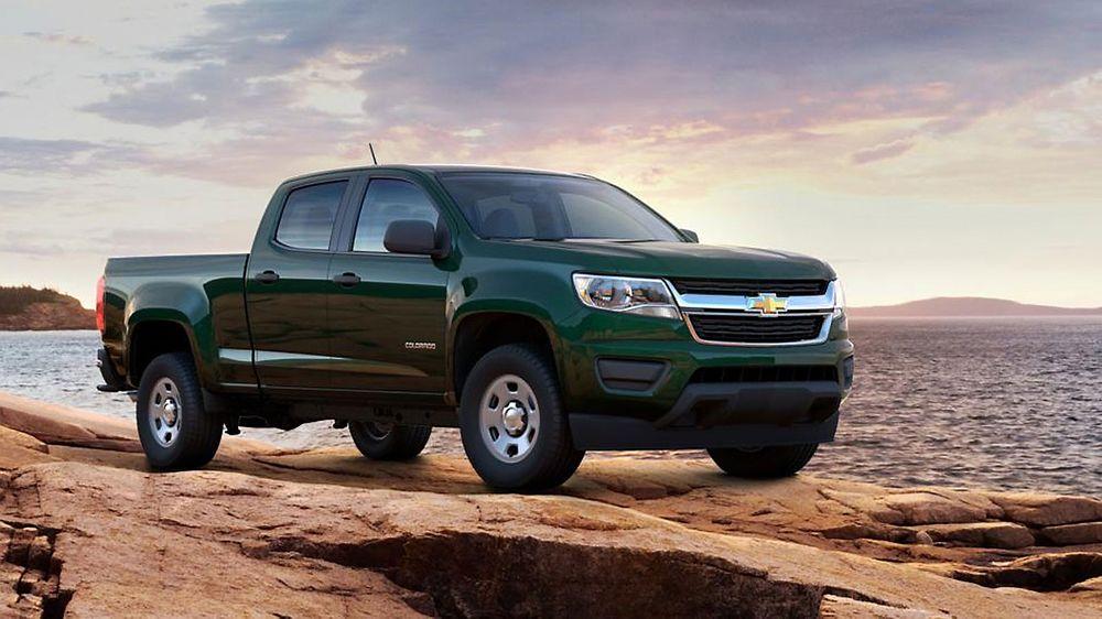 General Motors og USAs hær utvikler en hydrogendrevet variant av Chevrolet Colorado for testing i felt.