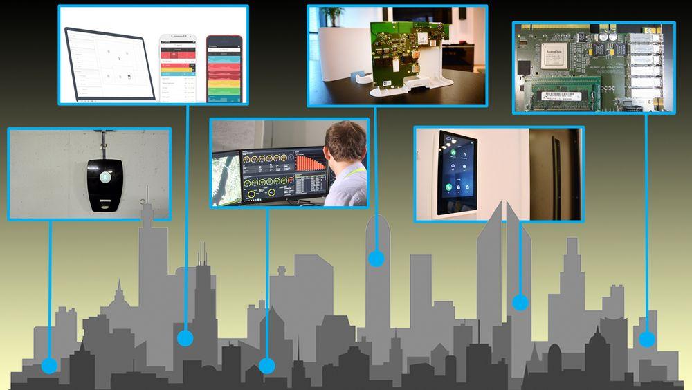 Lyse, ESmart Systems, Westcontrol, Zaptec, FARA, Numascale, Future Home og Nordic Smart Buildings er håndplukket av Innovasjon Norge for sine smarte teknologier, og skal få drahjelp til å lansere sine teknologier i Europa og globalt.