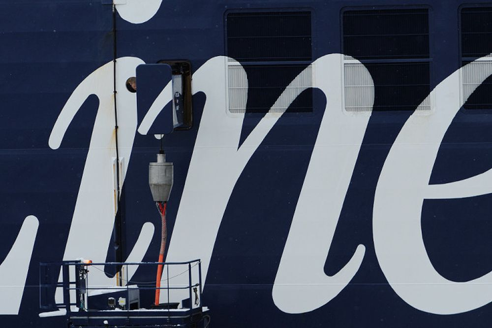 Color Line kobler seg på landstrøm i Oslo havn.