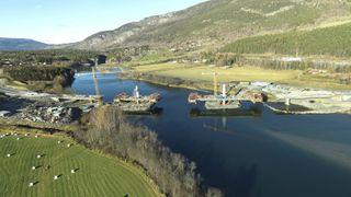Denne brua blir Norges første av sitt slag