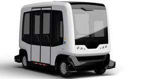 En buss av denne typen, produsert av Easymile, skal testes ut i Kongsberg i september.