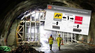 Vegvesen-ingeniør eier AF-aksjer for 1,4 mill. Kontrollerer samtidig kvaliteten på tunnel AF bygger