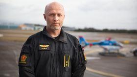 Freddy Rotseth er avsnittssjef for Politiets helikoptertjeneste.