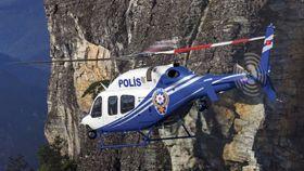 Politiet i Tyrkia fikk levert de første sju av femten bestilte Bell 429 for to år siden.