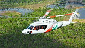Sikorsky S-76D fra da amerikanske luftfartsmyndigheter (FAA) sertifiserte den med PW210S-motorer i 2011.