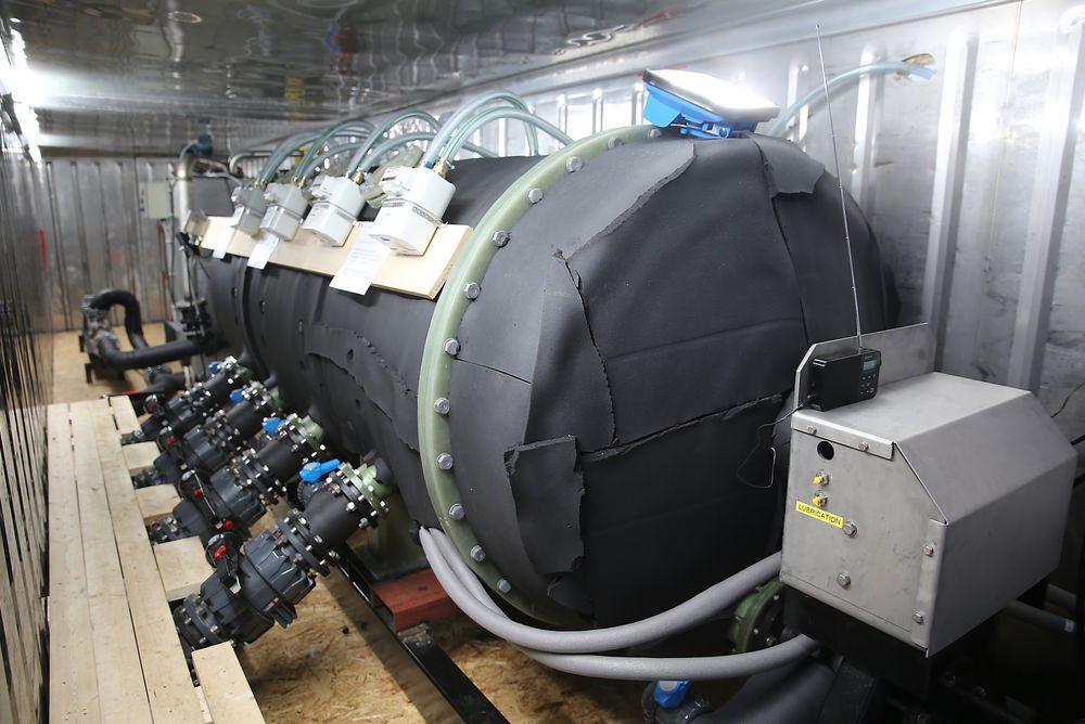 Produksjonen av biogass i Norge kan dobles innen to år om de planlagte anleggene bygges. Antec Biogas sitt anlegg på Ås (bildet) er et eksempel på nyskaping i næringen.