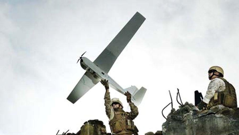 Forsvaret har siden 2014 testet droner av typen RQ-20A Puma.