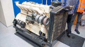 H-motoren, også kalt bussmotoren, ble laget i to eksemplarer.