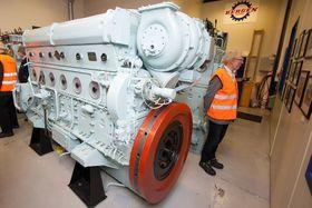 L-motoren ble opprinnelig designet med tanke på bruk i NSBs lokomotiver.
