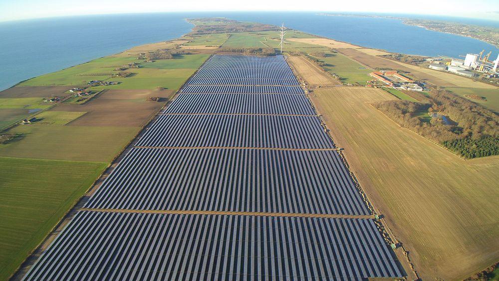 Skandinavias største solcelleanlegg åpnet rett før jul på Sjælland i Danmark.