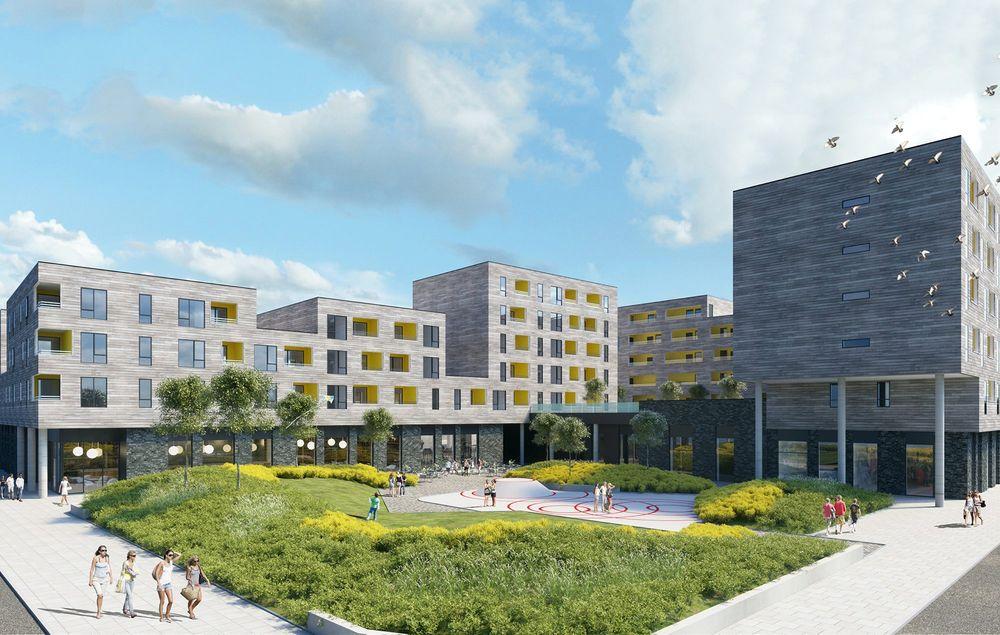 Store problemer: Boligprosjektet «Fem grader øst» skulle bli Lyses første store smarthus-utbygging.
