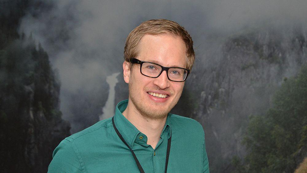Gaute var en av deltagerne på Hydro Professional Program. Foto: Nils Vibe-Rheymer