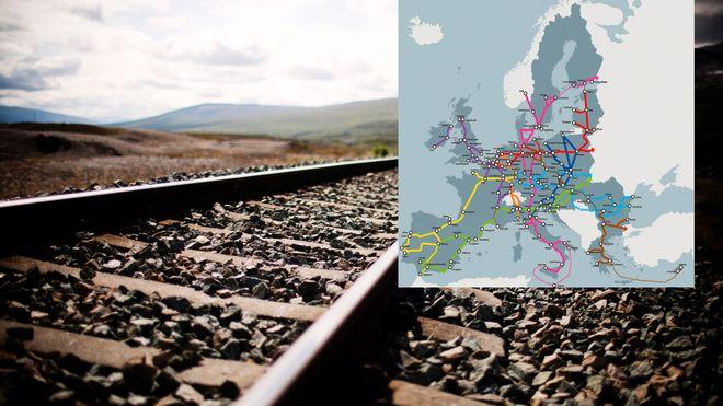 Storselskaper vil betale 15 milliarder for jernbane mellom Norge og Sverige