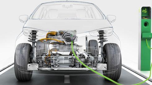 Elbil-motoren