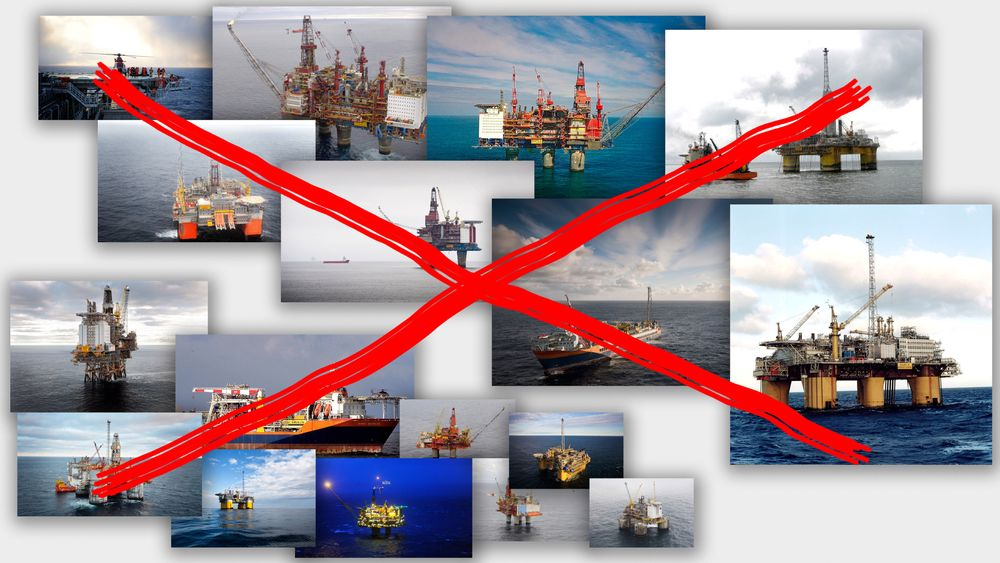 Aker Solutions mistet vedlikeholdskontraktene på ni plattformer (klyngen nederst) i 2010 og 2011. I dag røk åtte nye (klyngen øverst).