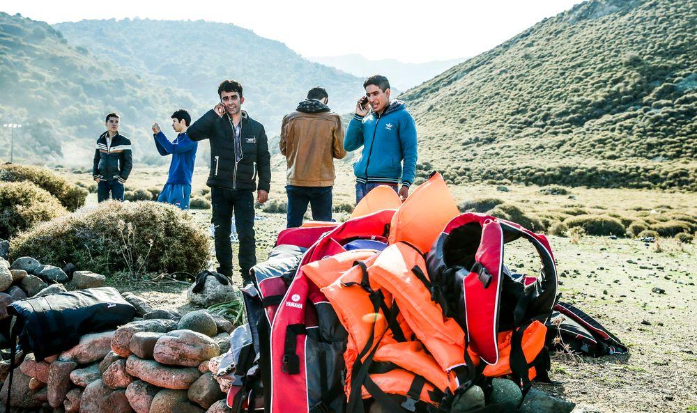 Vil ha ingeniør-jobb: Flyktninger fra krigsherjede områder i Midt-Østen har ført til at mange syrere med ingeniørfaglig eller teknisk bakgrunn nå vil få godkjent utdanningen i Norge. (Illustrasjonsfoto, personene på bildet har ikke direkte sammenheng med saken)