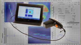 Dolphicam brukes til å finne skader, delamineringer og andre defekter i karbonstrukturer.