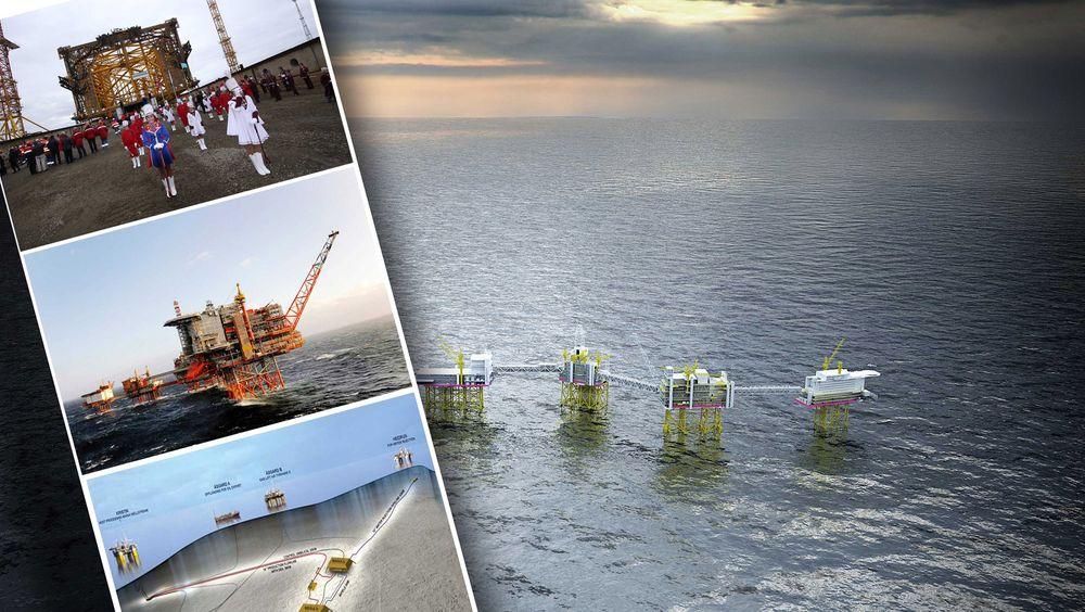 Statoil har delt ut de syv største kontraktene i år. Tre av disse er tilknyttet Sverdrup, fire er rammeavtaler for blant annet vedlikehold.