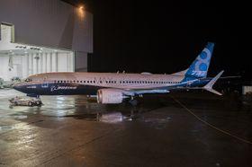 Første Boeing 737 Max-8 ble rullet ut fra fabrikken i Renton tirsdag.
