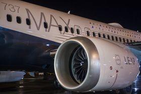 Boeing 737 Max leveres med CFMs nye Leap 1B-motorer. Viftediameteren har økt med 20 cm sammenlignet med CFM56.