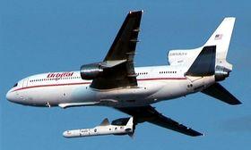 Orbitals L-1011 Tristar slipper Pegasus-raketten i 1996.