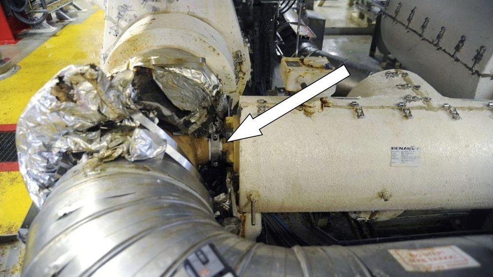 Her, i prosessanlegget på Gudrun-ble det brudd, som førte til en kraftig lekkasje. Lekkasjen kunne fått fatalt utfall.