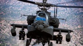 Boeing leverte 61 AH-64 Apache i 2015.