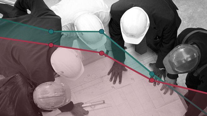 De siste årene har lønna til ingeniørene økt mer enn sivilingeniørenes. I år har det snudd