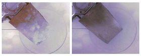 Et komposittmaterila med nanobånd av grafén kan avise vinger på kort tid.