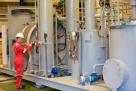 Et helt produksjonsanlegg for hydrogen består av mange elementer, der separator, scrubber og kompressor og tørker er viktige elementer. NEL kan levere hele anlegg, eller deler og bistå med innkjøp for andre komponenter.