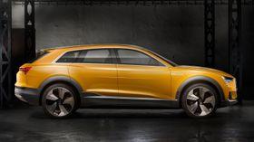 Audi h-tron quattro vises fram i Detroit denne uka og er en hydrogenversjon av det elektriske konseptet e-tron quattro som ble vist fram i Frankfurt i september i fjor.
