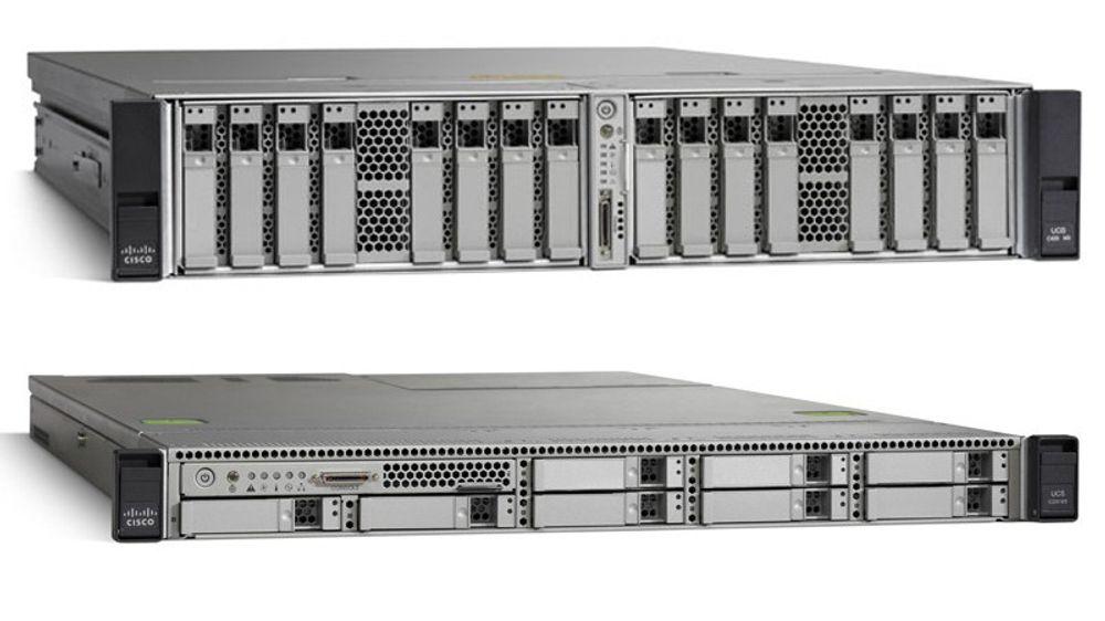 Det var rackservere i Ciscos C-serie som ble rammet av passord-krøllet.