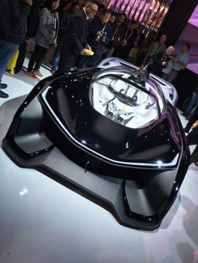 Faraday Future ble lansert på CES. Det sorte vidunderet er skapt etter initiativ fra utbrytere fra Tesla. Designet har norsk medvirkning. Lite er ennå konkret - annet enn et oppsiktsvekkende design.
