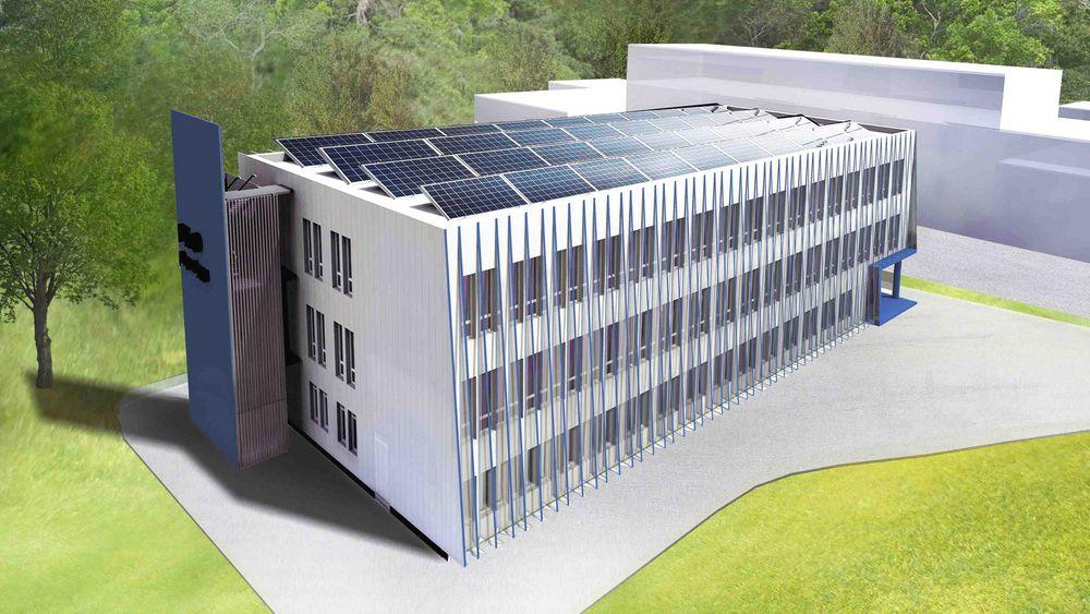 Depotbygget på Haakonsvern ferdigstilles i disse dager, som et av landets første nullenergibygg. Det varmes blant annet opp via et sjøvarmeanlegg. Artikkelforfatteren mener nye TEK 10-krav vil føre til at utviklingen av miljøteknologi for å nå målene om nullenergihus, stanser opp.