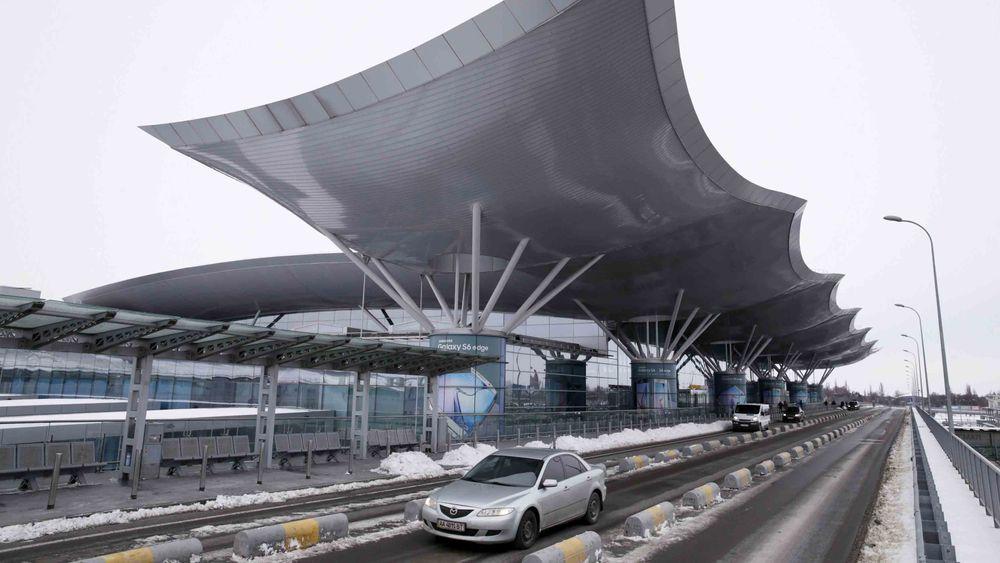 Kievs hovedflyplass, Boryspil, ble i helgen rammet av et dataangrep.