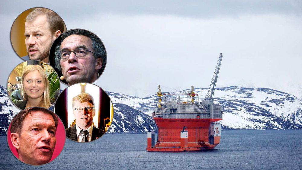 Goliat-prosjektet får både ros og kritikk fra norske energipolitikere. Mens Tina Bru ønsker å se fremover, mener blant annet Arbeiderpartiets Terje Aasland at han ikke vil se et slikt prosjekt igjen.