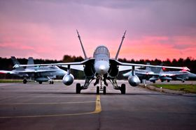 Finland har i dag 62 Boeing F-18C/D Hornet.