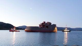 Første skip med X-Stern er kommet til Ulsteinvik