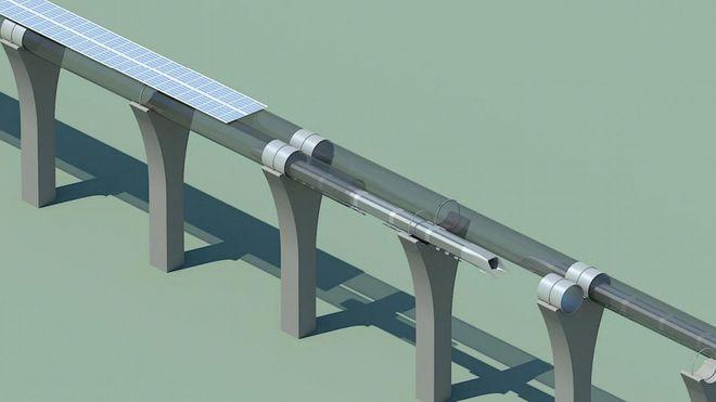 Vil bygge hyperloop-bane mellom Sverige og Finland