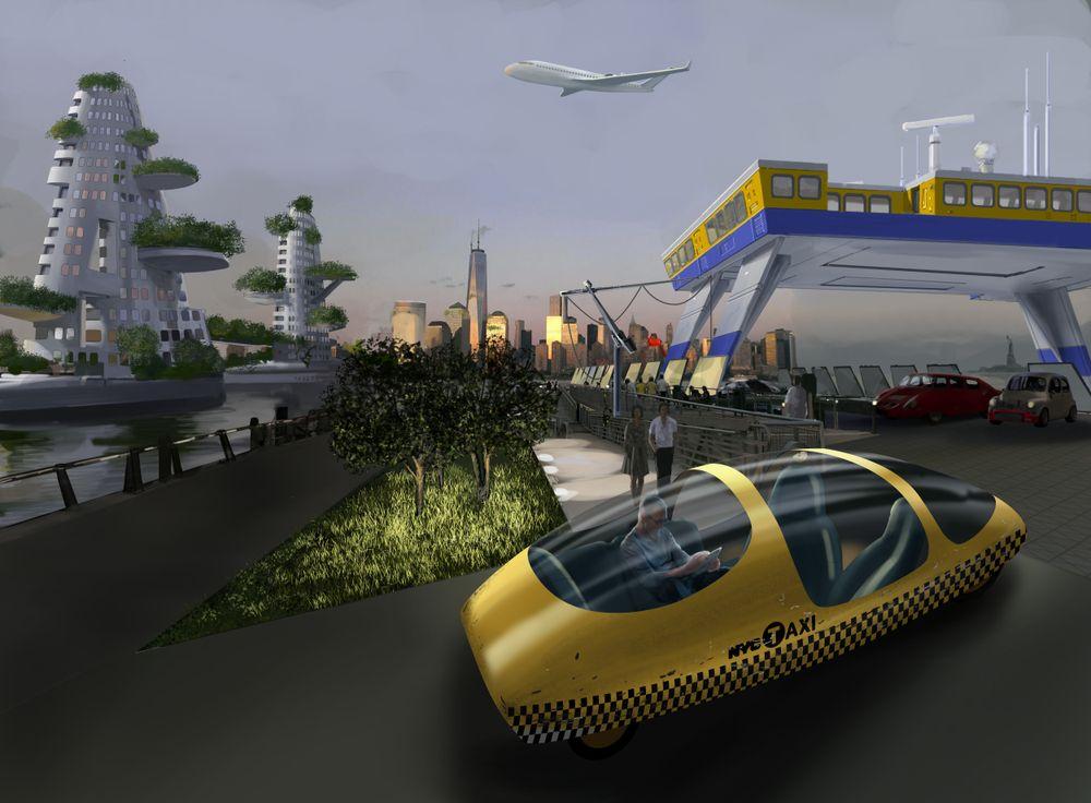 BRANDSTORY: Å reise med egen bil inn til Oslo er i 2030 utenkelig